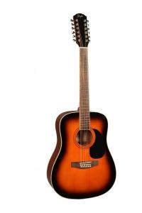 12-ти струнная акустическая гитара FLIGHT W 12701/12 SB