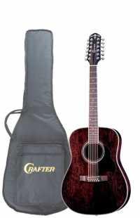 12-ти струнная электроакустическая гитара CRAFTER MD-70-12EQ/TBK + Чехол (пр-во Корея)