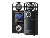 Ручной минивидеорекордер со стерео микрофоном и HD видео Zoom Q2HDB