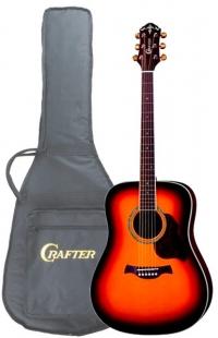 Акустическая гитара CRAFTER D 8/TS + чехол