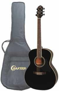 Акустическая гитара CRAFTER GA 8/BK + чехол