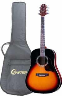 Акустическая гитара CRAFTER JM-250/VLS-V + Чехол (пр-во Корея)