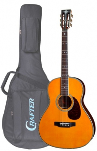 Акустическая гитара CRAFTER TA-050/AM + Чехол (пр-во Корея)