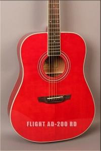 Акустическая гитара FLIGHT AD-200 RD