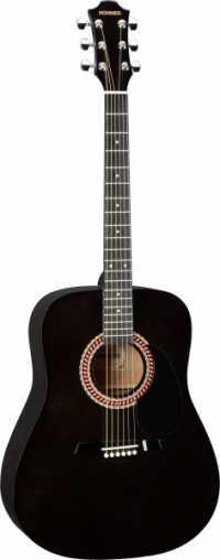 Акустическая гитара HOHNER HW220 TBK цвет черный