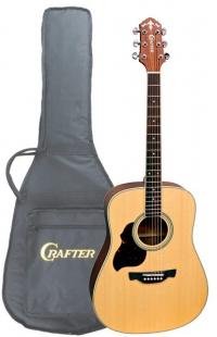 Акустическая гитара под левую руку CRAFTER D 6L/N + чехол