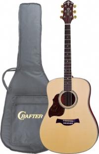 Акустическая гитара под левую руку CRAFTER D 8L/N + чехол