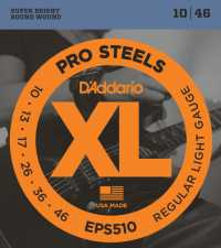 Струны для электрогитары D'ADDARIO EPS510 Regular Light