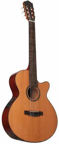 Классическая гитара электроакустическая Dowina CLEC 555