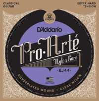 Струны для классической гитары D'ADDARIO EJ44 Extra Hard