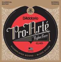 Струны для классической гитары D'ADDARIO EJ49 Normal