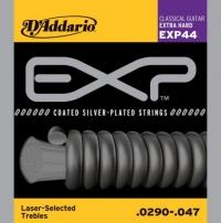 Струны для классической гитары D'ADDARIO EXP44 Extra Hard