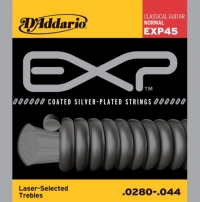 Струны для классической гитары D'ADDARIO EXP45 Normal