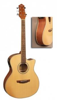 Электроакустическая гитара FLIGHT AG-210 CEQ NA