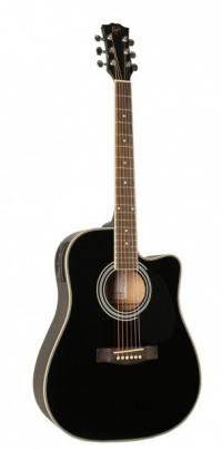Электроакустическая гитара FLIGHT GD-802CEQ BK