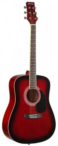 Гитара акустическая MARTINEZ FAW - 702 / TWRS