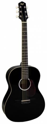 Фолк гитара с металлическими струнами FLIGHT SF24 BK LH