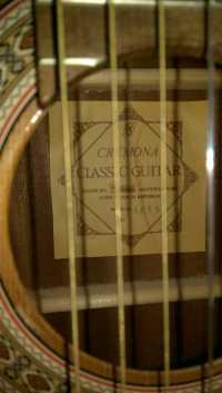 Классическая гитара CREMONA 4855
