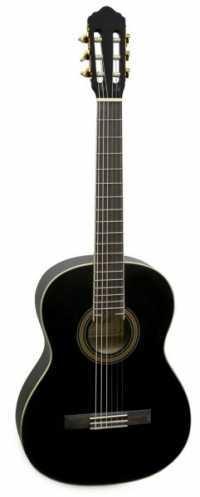 Классическая гитара FLIGHT C 90 BK цвет черный