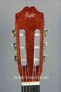 Классическая гитара с подключением FLIGHT C 100 CEQ NAT