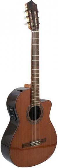 Классическая гитара с подключением PEREZ 630 Cedar E1