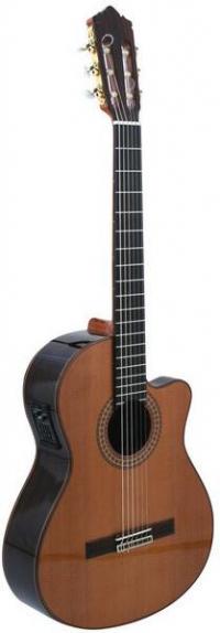 Классическая гитара с подключением PEREZ 690 Cedar E2