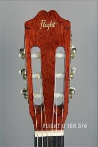 Классическая гитара уменьшенная FLIGHT C 100 1/2