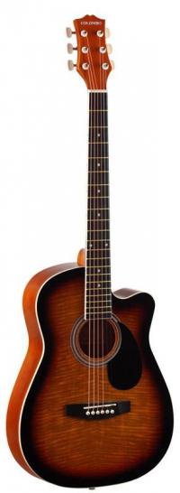 Гитара акустическая COLOMBO LF - 3800 CT / SB