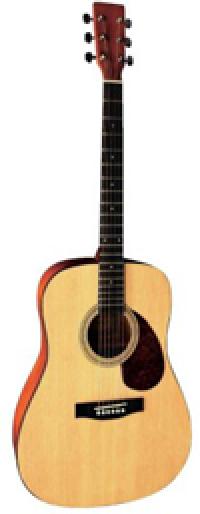 TENSON D1 гитара акустическая, цвет натуральный
