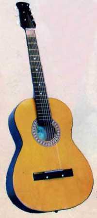 Гитара ижевская 6-струнная 2К