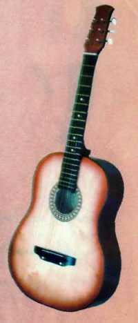 Гитара ижевская 6-ти струнная 1С