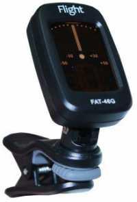 Гитарный тюнер-прищепка FLIGHT FAT-46G с авто включением