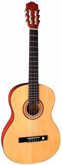 TENSON CLASSIC GUITAR, гитара классическая 4/4, цвет натуральный