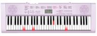 интезатор с подстветкой клавиш CASIO LK-127 цвет розовый