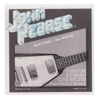 Струны для электрогитары, 10-50 никель, John Pearse Set #2505